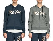 Mossimo Women's Script Zip Thru Hoody Deep Navy or Heather Marle BNTW 30% Off