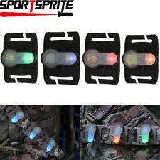 Tactical S-Lite LED Survival Safety Light Signal Strobe Light for Vest / Helmet