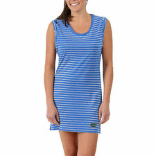 Florida Gators Women's Royal Striped Tri-Blend Tank Dress - College