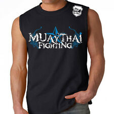 Stryker Muay Thai Fighting Tiger UFC Karate Boxing Shirt W 1 FRE Tapout Sticker