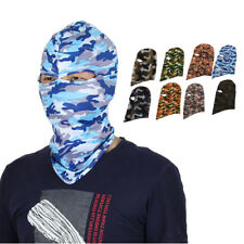 Full Coverage Face Mask Outdoor Eyes Holes Neck Protector Hood Helmet Balaclava