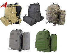 USMC Military Army Tactical Molle Assault Backpack Bag Hunting Hiking Camping