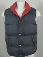 NEW Polo Ralph Lauren Reversible Down Puffer Vest Red/Navy Orang/Olive Gray/Gree