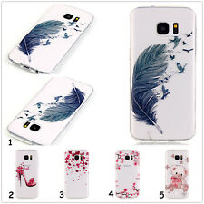 1X For iPhone Samsung Ultra Thin Silicone Soft TPU Clear Case Crystal Skin Cover