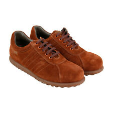 Camper Pelotas Ariel Mens Brown Suede Lace Up Lace Up Sneakers Shoes