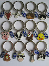 RSPCA CHARITY Paws to Support Charm Keyrings. Choice of 12 - collect all 12!!