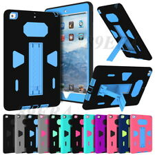 Extreme Hybrid High Impact Shockproof Kickstand Combo Skin Case For iPad Series