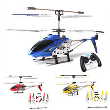 3.5CH Syma S107 S107G Metal Mini Remote Control RC Helicopter Gyro Toy