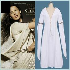 Legend of the Seeker Kahlan Amnell Confessor White Dress Cosplay Costume