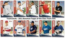 2011 Bowman Topps of the Class Baseball Set ** Pick Your Team **