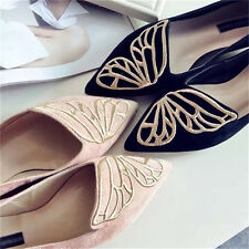 New Fashion Womens Lady Casual Ballet Shoes Slip Flats Loafers Butterfly Shoes