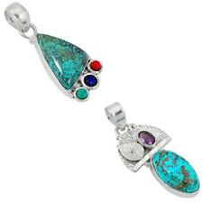 925 sterling silver shattuckite pendant jewelry by jewelexi 8161A