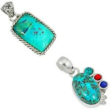 925 sterling silver shattuckite pendant jewelry by jewelexi 9330A
