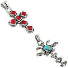 925 sterling silver holy cross pendant jewelry by jewelexi 9060A
