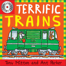 Terrific Trains (Amazing Machines with CD), Tony Mitton and Ant Parker, Used; Go