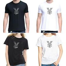 Men Women Chinese Yuan Sign O-Neck Short Sleeve Summer Top Tee T-Shirt Charm