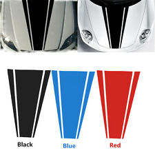 54cmx85cm Car Racing Dual Stripe Hood decals Vinyl Graphics Front sticker