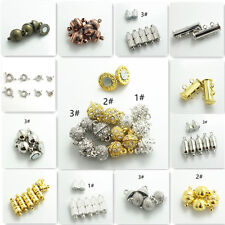 Wholesale 10pcs Silver/ Gold/Silver k Magnetic Clasps Hooks For Jewelry Making