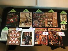 Choice: Halloween & Christmas Cross Stitch Patterns Magazines Santa Witch Scare