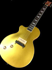 PICK RIGHT OR LEFT HANDED LP STYLE GOLD TOP SINGLE P90 6 STRING ELECTRIC GUITAR