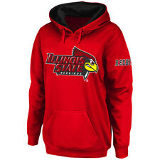 Stadium Athletic Illinois State Redbirds Women's Red Big Logo Pullover Hoodie