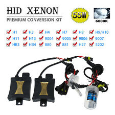 HID XENON KIT Headlight Conversion Slim Ballast H13 H4 9006 9005 White 6000k 6k