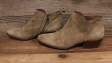 Womens Sam Edelman Soft Leather/Suede Side Zip Ankle Boots/Booties Sz 10M