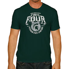 Michigan State Spartans 2015 Indianapolis Final Four Spartan Logo Green T-Shirt