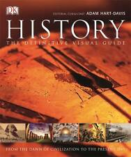 History: The Definitive Visual Guide by Adam Hart-Davis (Hardback, 2013) eb#til