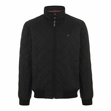 MERC LONDON JACKET HUME QUILTED JACKET BLACK ML XL JACKET HARRINGTON PADDED