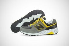 New Balance Elite 572 Running MRT572GY Grey Yellow Suede Shoes (D M) Mens