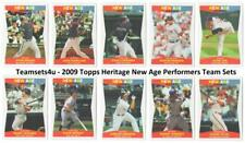 2009 Topps Heritage New Age Performers Baseball Set ** Pick Your Team **