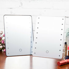Ovonni L206 Portable Touch Screen 16 LEDs Lighted Make-up Cosmetic Vanity Mirror