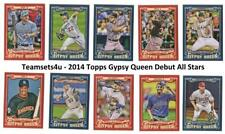 2014 Topps Gypsy Queen Debut All-Stars Baseball Set ** Pick Your Team **