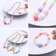 Stylish Imitation Pearl Girls Colorful Fashion Korean Gumball