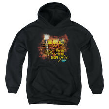 Survivor Fires Out Big Boys Youth Pullover Hoodie BLACK