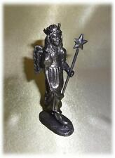 "MICHAEL RICKER PEWTER ""AMANDA"" COLLECTORS SOCIETY CERTIFICATE ANGEL WINGS WAND"