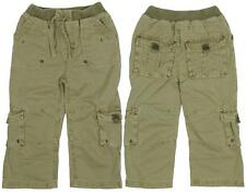 Girls Baby Toddler Khaki Combat Trousers Newborn to 24 Months CLEARANCE SALE
