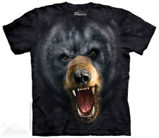 Aggressive Black Bear T-Shirt by The Mountain - Adult Sizes