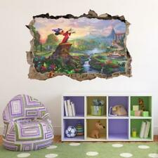 Mickey Mouse Disney 3D Smashed Wall Sticker Decal Decor Art Mural J472