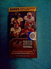 2013 UPPER DECK FB*f/s BOX*L@@K for 35 ROOKIES in each BOX & ROOKIE AUTOGRAPHS*