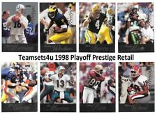 1998 Playoff Prestige Retail Football Set ** Pick Your Team **