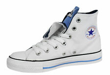 Converse Chuck Taylor CT All Star Canvas Lace Up Hi Top Unisex Trainers 1V293 WH