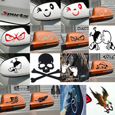 Baby Smile Face Design 3D Decal Decoration Sticker for Car Side Mirror Rearview
