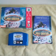TONY HAWK'S PRO SKATER - Complete Nintendo 64 Game, 1999