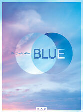 B.A.P BAP - BLUE : 7th Single Album (B ver) CD+ Photobook + Photocard , Poster
