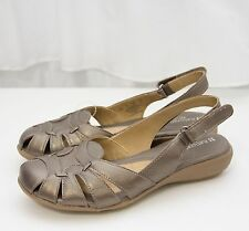 Naturalizer N5 Comfort Cyrus Leather Slingback Sandals Shoes Sz 6M & 6 Wide NEW