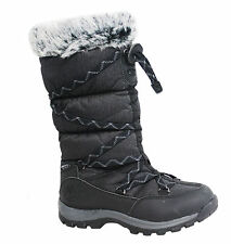 Timberland Over The Chill Waterproof Insulated Black Womens Boots 2160R U69