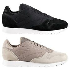 Reebok Men Classic Leather CC TRAINERS MEN'S LEATHER SHOES GYM SHOE NEW CL