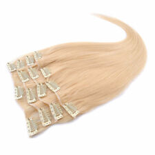 NEW 8A 24'' 100g 7pcs Set 100% Remy Human Hair Clip In Human Hair Extensions